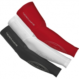Manchettes thermiques northwave evo arm warmer white l