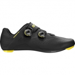 Chaussures route mavic cosmic pro black yellow