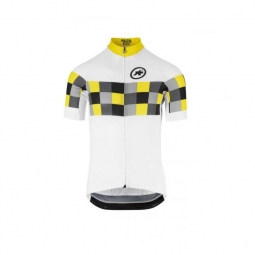 Maillot manches courtes homme assos ss grand prix jersey evo8 voltyellow l