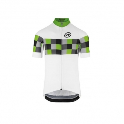 Maillot manches courtes homme assos ss grand prix jersey evo8 pitongreen l