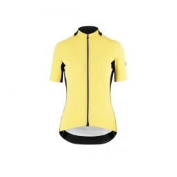 Maillot manches courtes femme assos ss jersey laalalai evo canaryellow