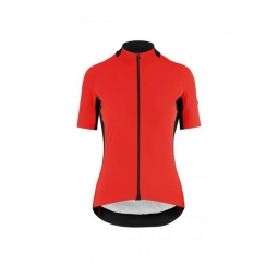 Maillot manches courtes femme assos ss jersey laalalai evo nationalred