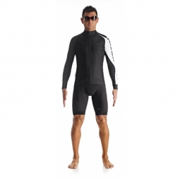 Veste coupe vent manches longues homme assos ij mille intermediate evo7 holywhite