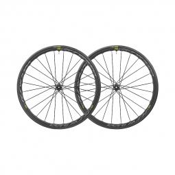 Paire roues mavic ksyrium disc ust tubeless