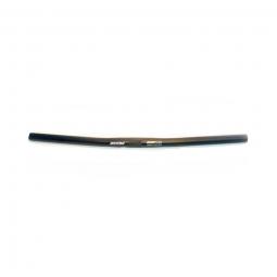 Guidon vtt droit alu noire 25 4 mm
