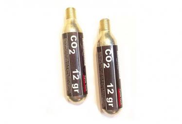 Cartouches filetées CO2 12 gr - par 2 .