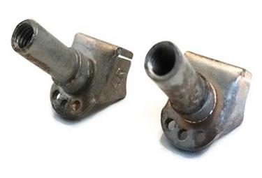 Tasseaux de frein arrière à souder pour vélo - Par 2 .