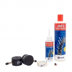 Kit tubeless complet anti crevaison joe s no flat