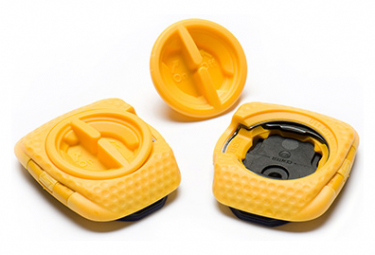 Speedplay Zero Aero Yellow Cleats