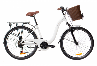 BH City Bike Miami Pro Lite Microshift MS-2516 Weiß 2019