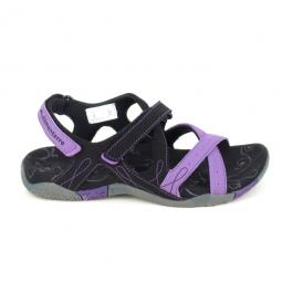 Sandale, Nu-piedNu pieds et sandales ELEMENTERRE Carioca Noir Mauve
