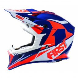 Casque vtt moto first racing t3 orange m