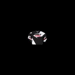 Maillot de vtt moto first racing data 2017 noir l