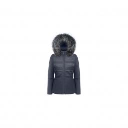 Veste poivre blanc stretch jacket gothic blue xs