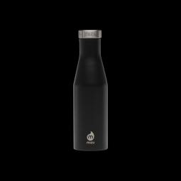 Gourde isotherme mizu s4 400 ml enduro black