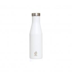 Gourde isotherme mizu s4 400 ml enduro white