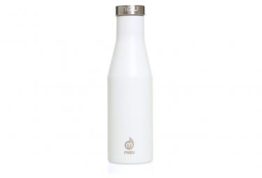 Image of Gourde isotherme mizu s4 400 ml enduro white