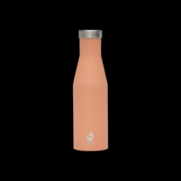 Gourde isotherme mizu s4 400 ml enduro peach