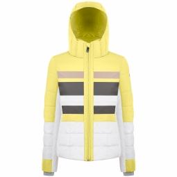 Veste de ski poivre blanc wo ski jacket yellow xs
