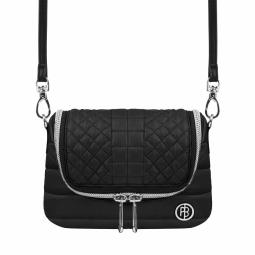 Pochette poivre blanc wo belt bag black non communique