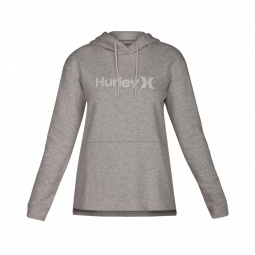 Sweat a capuche hurley one et only fleece dark grey xs