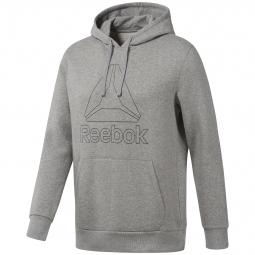 Sweatshirt a capuche reebor big logo l