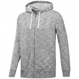 Sweatshirt a capuche zippe reebok elements marble group s