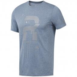 T-shirt Reebok Running Reflective