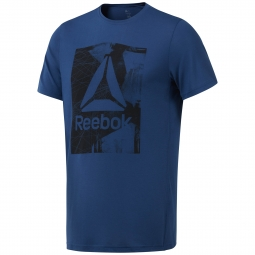 T-shirt Reebok Workout Ready Supremium Graphic