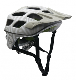 661 Sixsixone Casque RECON 2011 Argent/Blanc Taille L/XL
