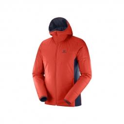 Manteau à capuche Salomon Drifter
