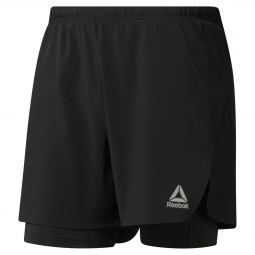 Short Reebok Running 2in1 2