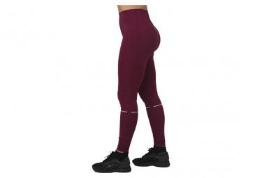Asics System Tight W 2012A021-600, Femme, Bordeaux, legging