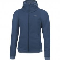 Sweatshirt à capuche femme Gore R3 Thermo Windstopper®