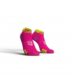 Chaussettes compressport pro racing 3 run low 45 48