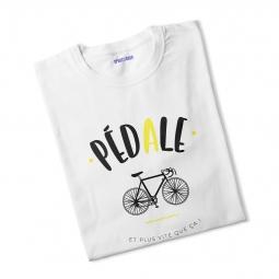T shirt femme pedale m