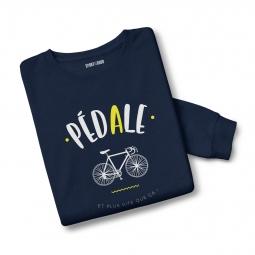 Sweatshirt mixte pedale xs
