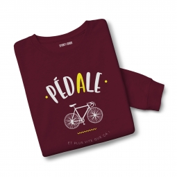 Sweatshirt mixte pedale m