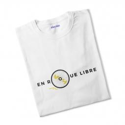 T shirt garcon en roue libre 7 8 ans