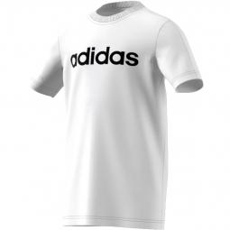 T shirt junior adidas essentials linear 11 12 ans