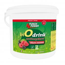 Boisson biodrink punch power antioxydant fruits rouges 3kg