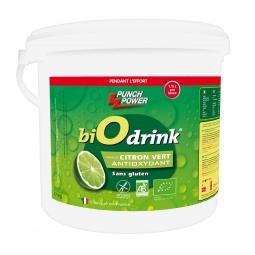 Image of Boisson biodrink punch power antioxydant citron vert 3kg