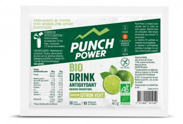 Image of Biodrink citron vert antioxydant presentoir 30 sachets