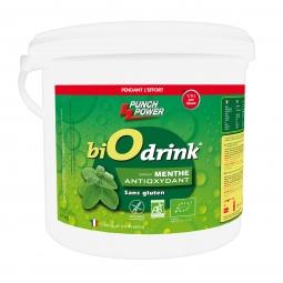 Boisson biodrink punch power antioxydant menthe 3kg