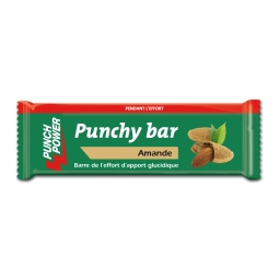 Présentoir de 40 barres punchy bar Punch Power amande – 30g
