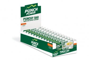 Présentoir de 40 barres punchy bar Punch Power banane – 30g