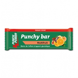 Présentoir de 40 barres punchy bar Punch Power multifruit – 30g