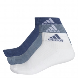Socquettes adidas 3 stripes performance 3 paires 31 34