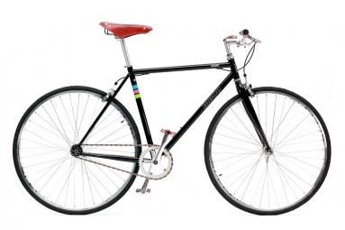 Fixie Biboo Bikes GEKKO VINTAGE Single Speed Noir 2019