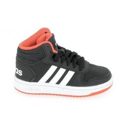 Basket mode sneaker adidas hoops mid 2 0 c noir blanc 28